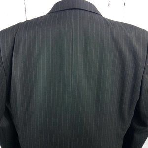 Jones New York Suits & Blazers - Jones New York Collection Brown Stripe Suit Blazer